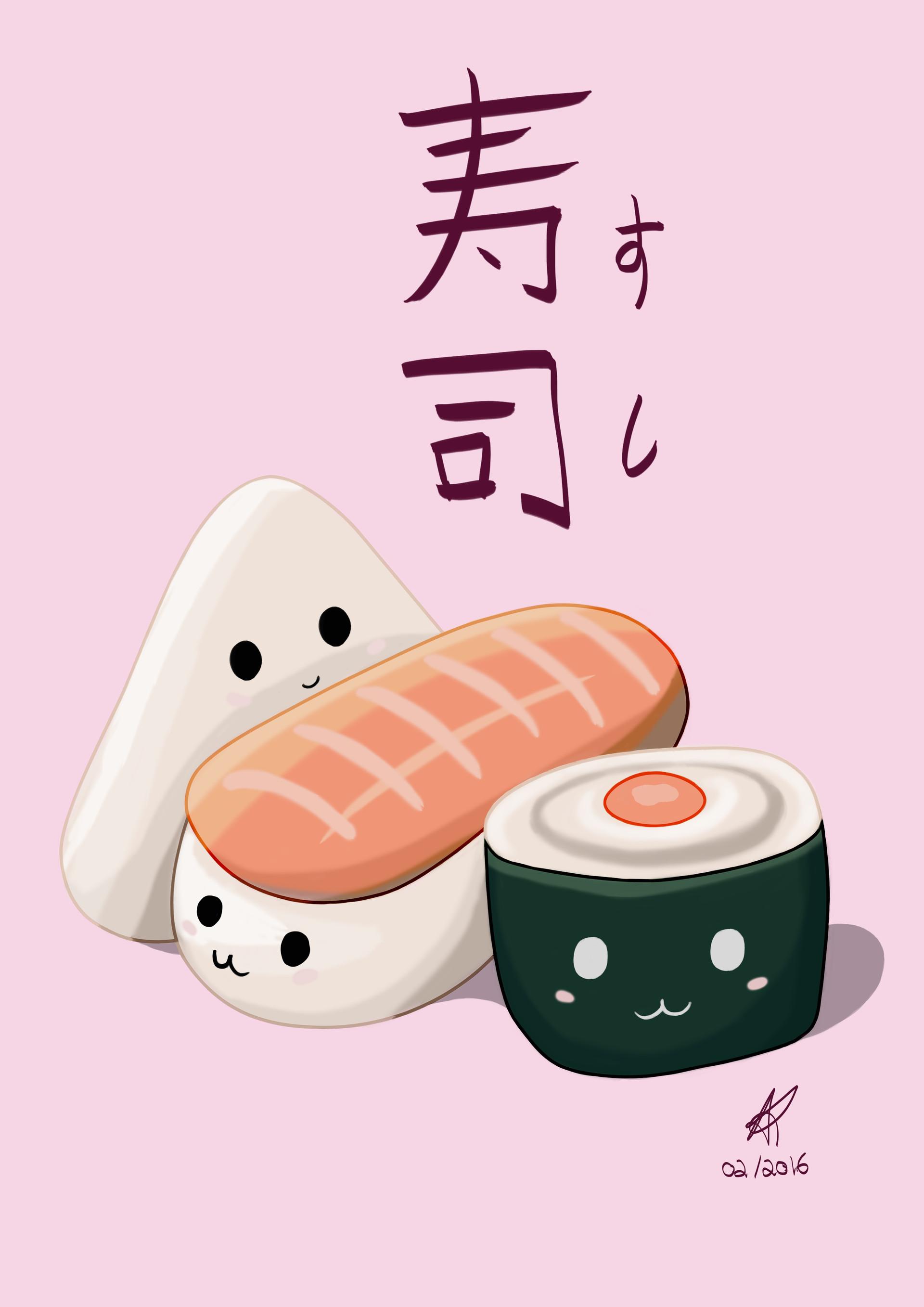 Digi nana cute sushi