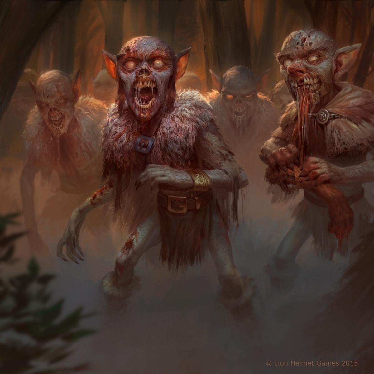 Zombie Goblin Horde