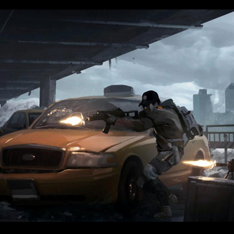 The Division Trailer - Colorscript