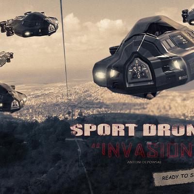 Antoni depowski drones invasion 2