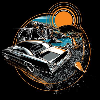 Brian Stupski T Shirt Art