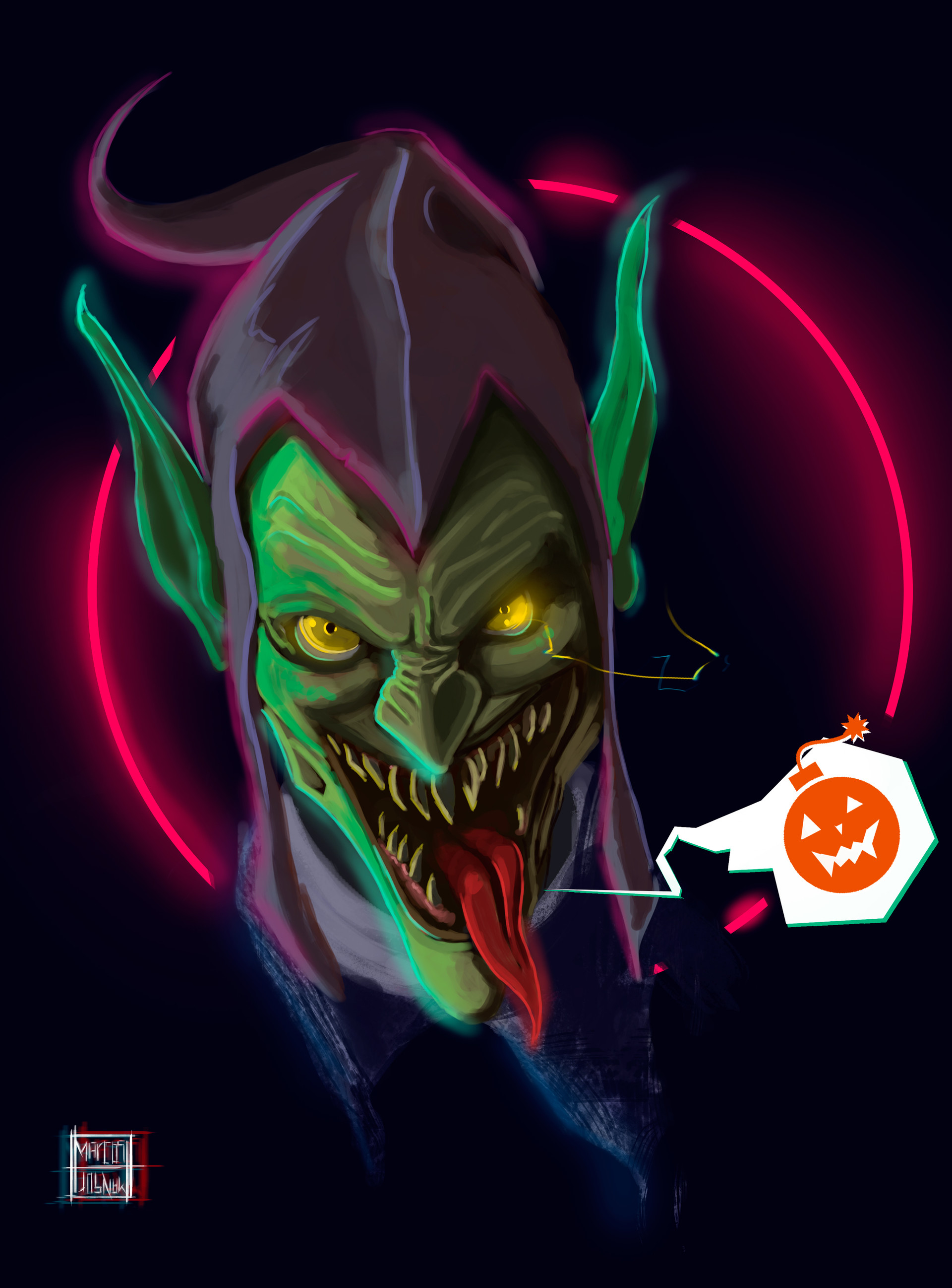 Marcos mansur green goblin