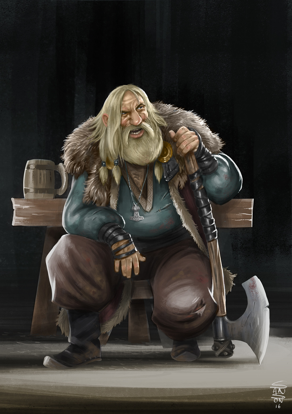 Ludovic sanson viking