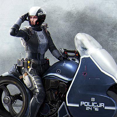 Jaroslaw marcinek ppf 2037 traffic cop iii