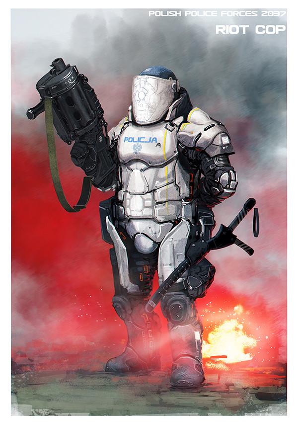 Jaroslaw marcinek ppf 2037 riot cop iii