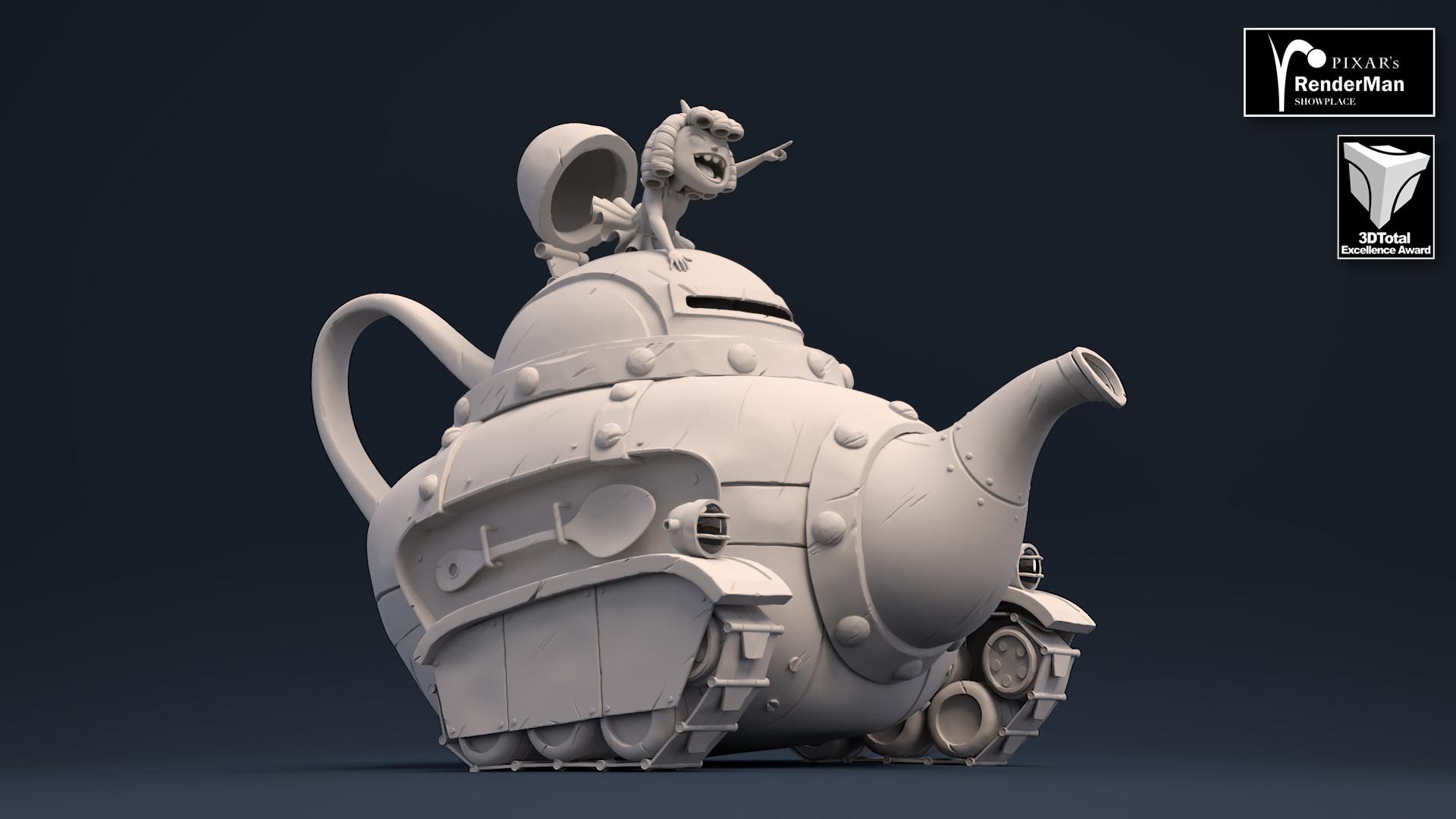 Brice laville saint martin teapot