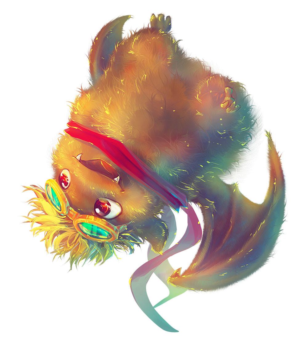 Ikou the Bat