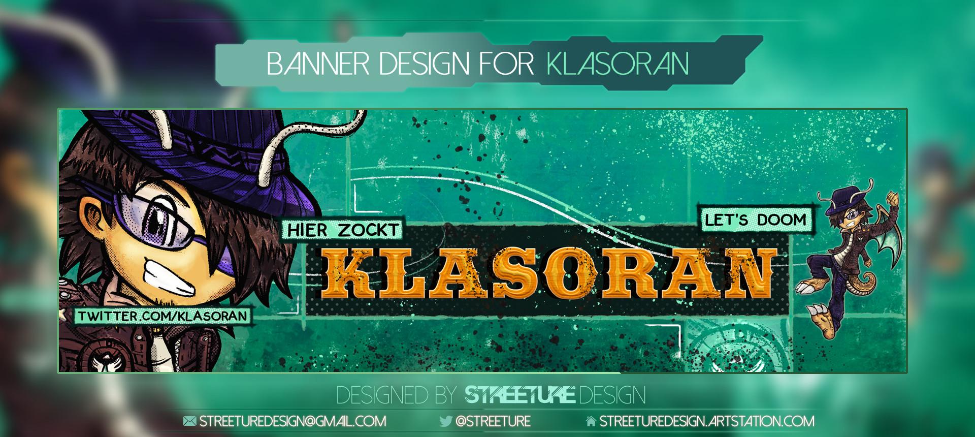 Streeture design bannerpresentationartstation klasoran