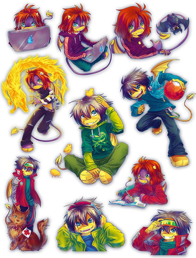 Mateřídouška Mascots