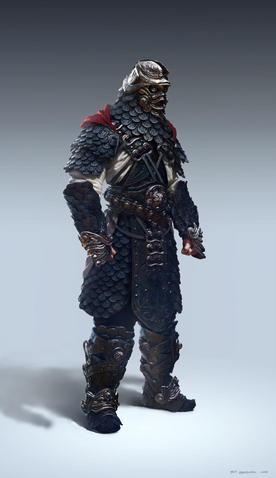 "Ranger - Epic Raid armour concept for ""Age of Conan: Rise of the Godslayer"""