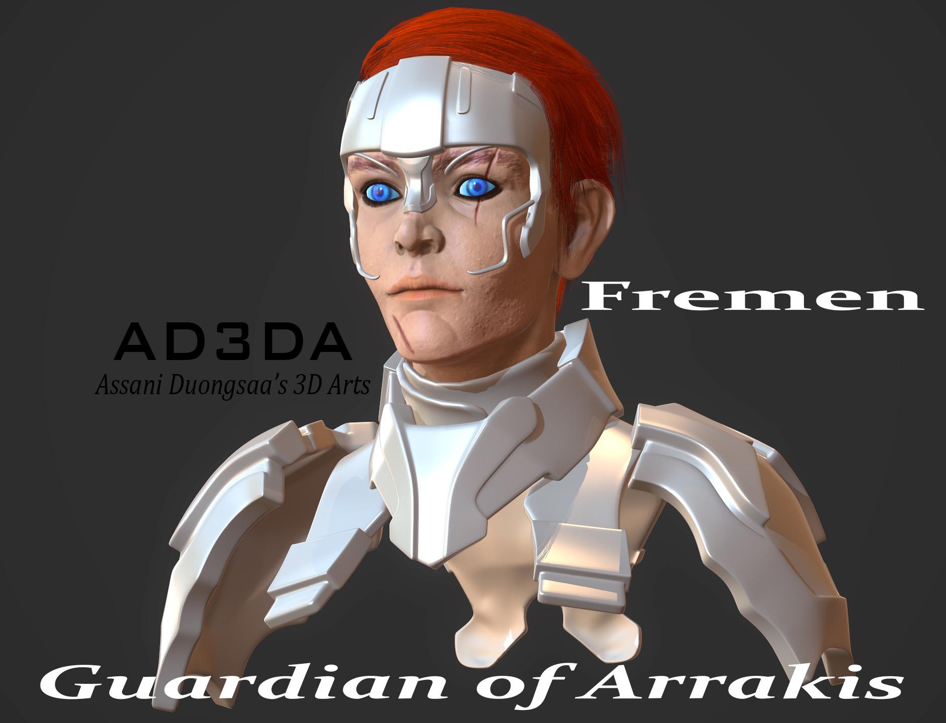Guardian of Arrakis - Portrait
