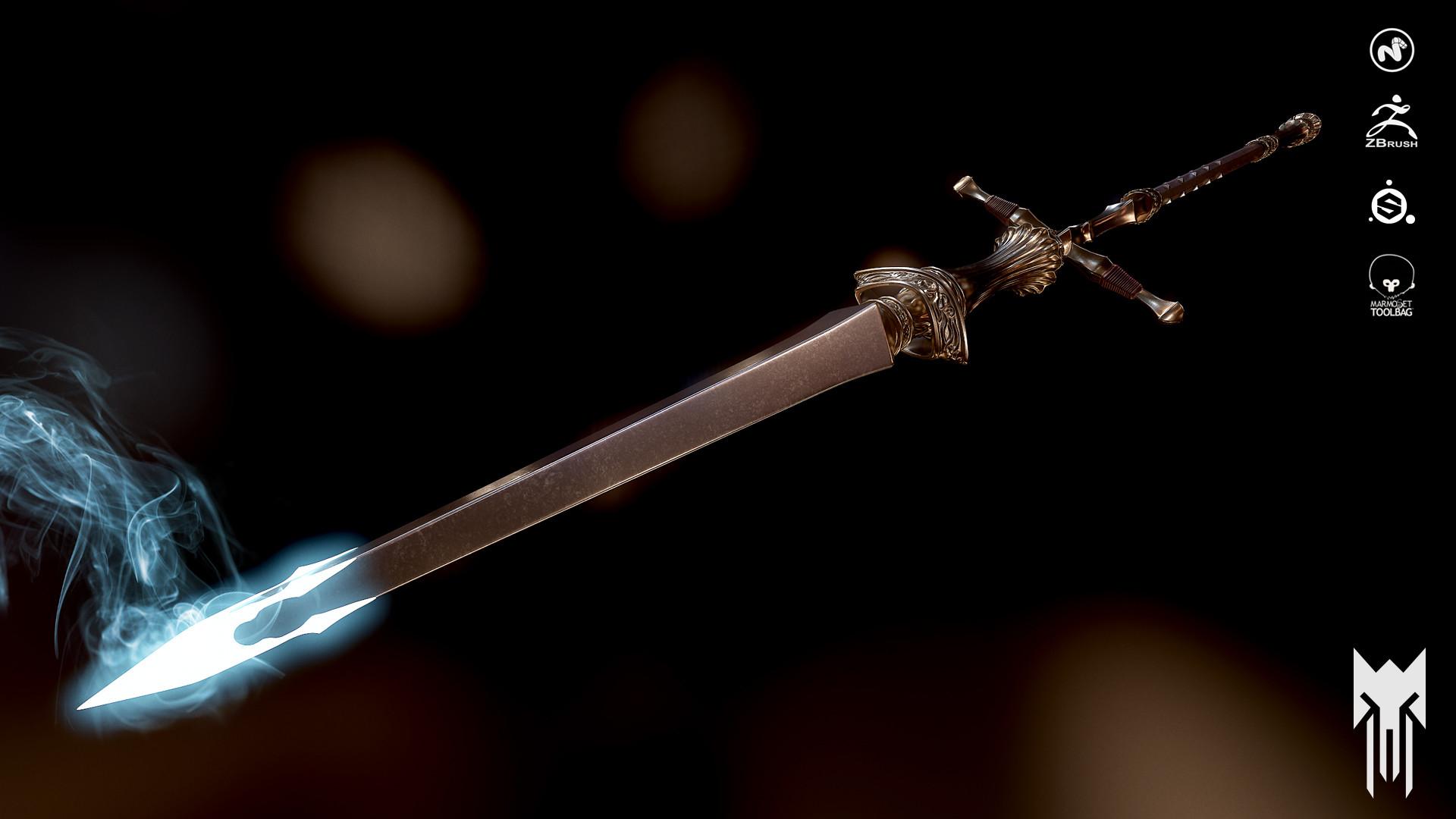 Dark Souls Swords Concept Art