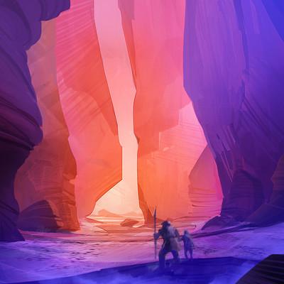 Goran bukvic crazybrush desert cave2