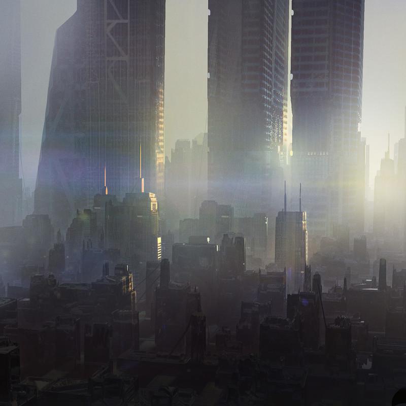 Artstation Sci Fi Cityscapes Juan Novelletto