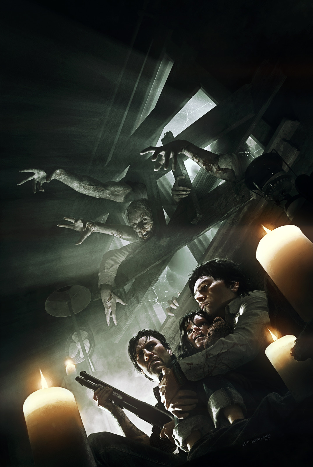"""""""The Walking Dead: Rise of the Governor"""" Book Cover"""