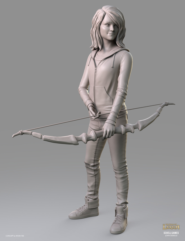 John deriggi lauriebrekke sculpt 01