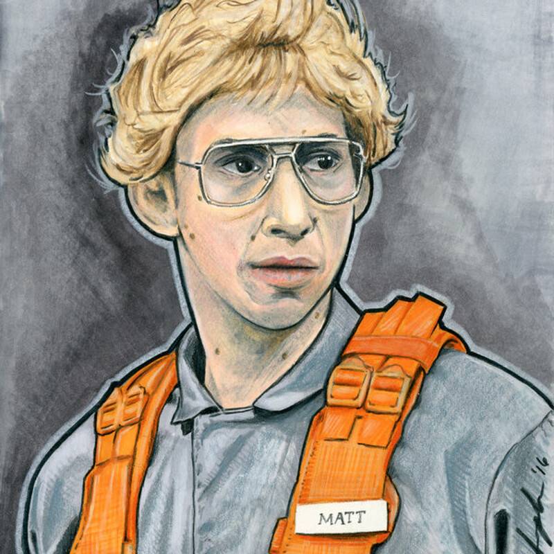 Matt the Radar Technician Sketch Cover