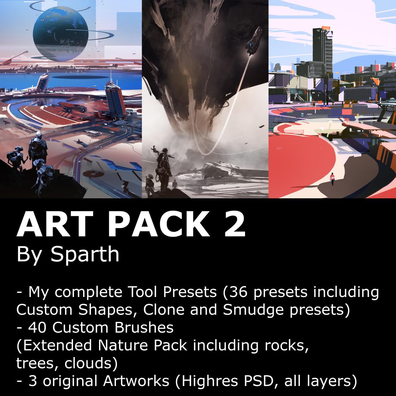 Sparth sparth artpack2