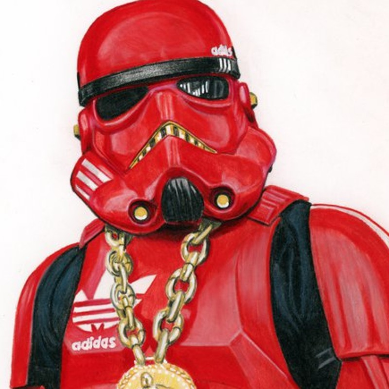 Hip Hop Trooper Sketch Cover