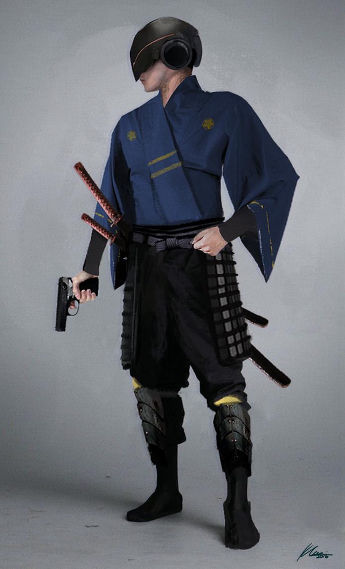 khairizal anwar cyberpunk samurai police