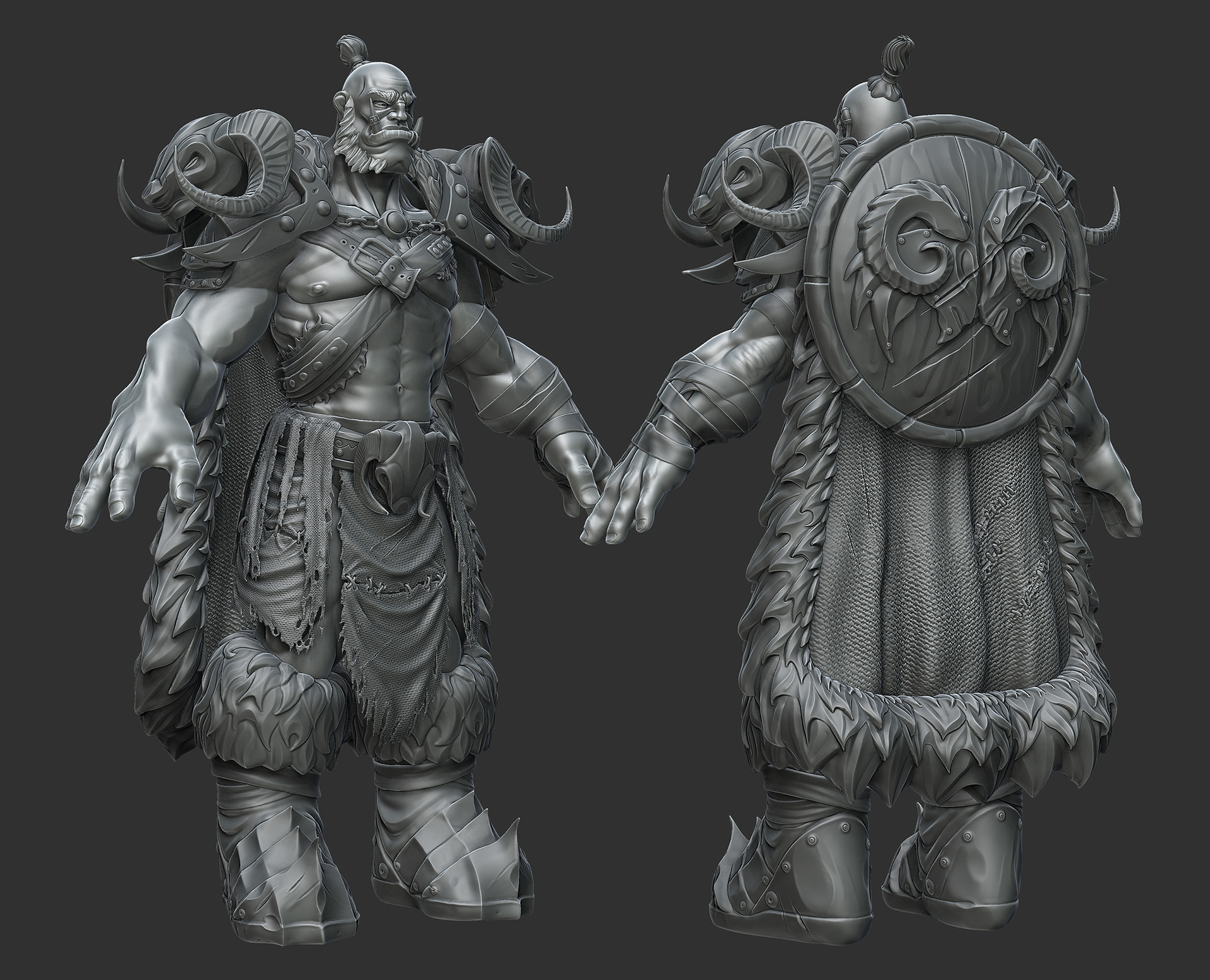 Eric wilkinson orc zbrush complete4