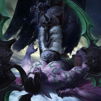 Jihun lee arthas menethil vs illidan stormrage