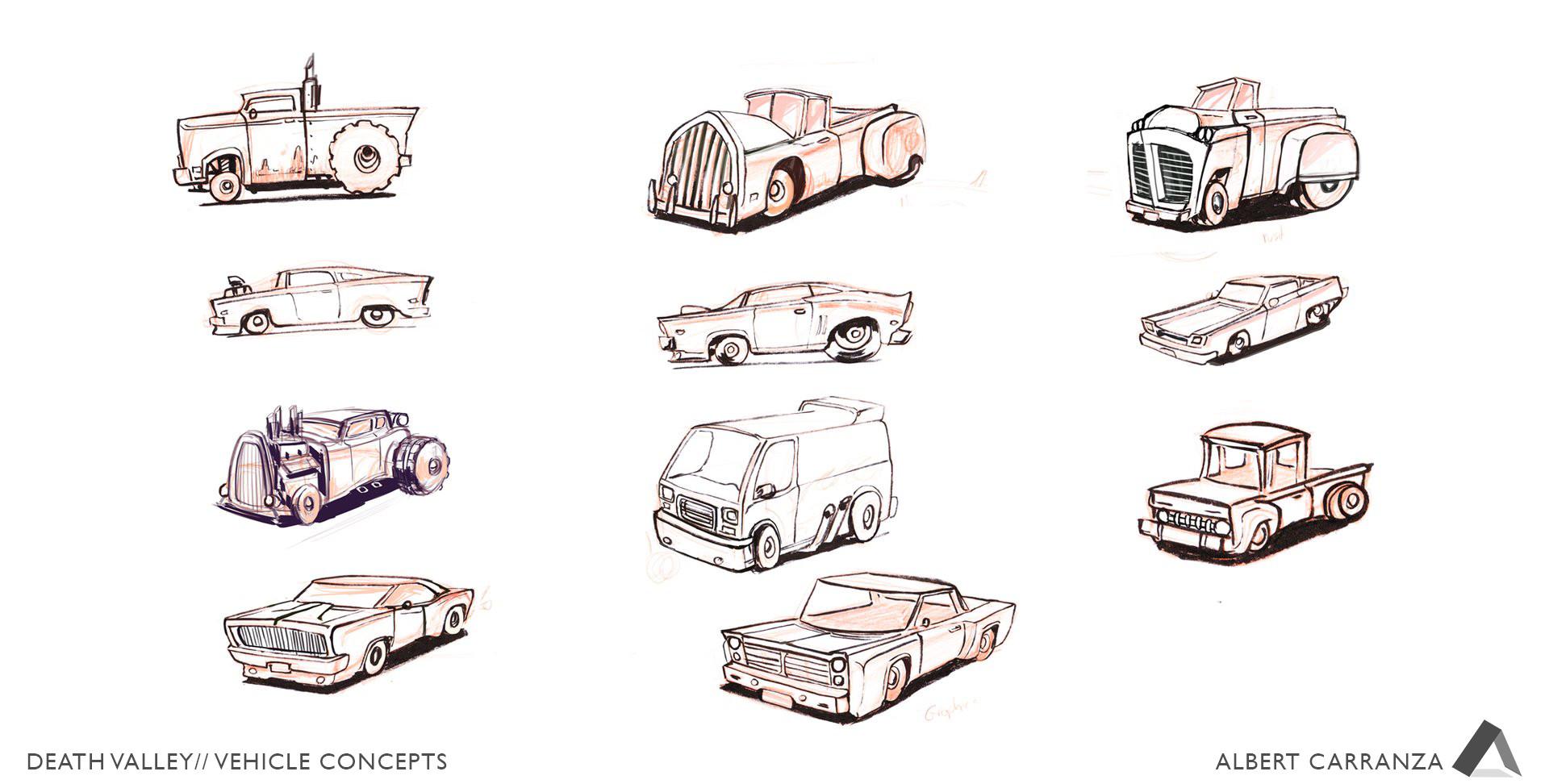 Albert carranza dv carsketches