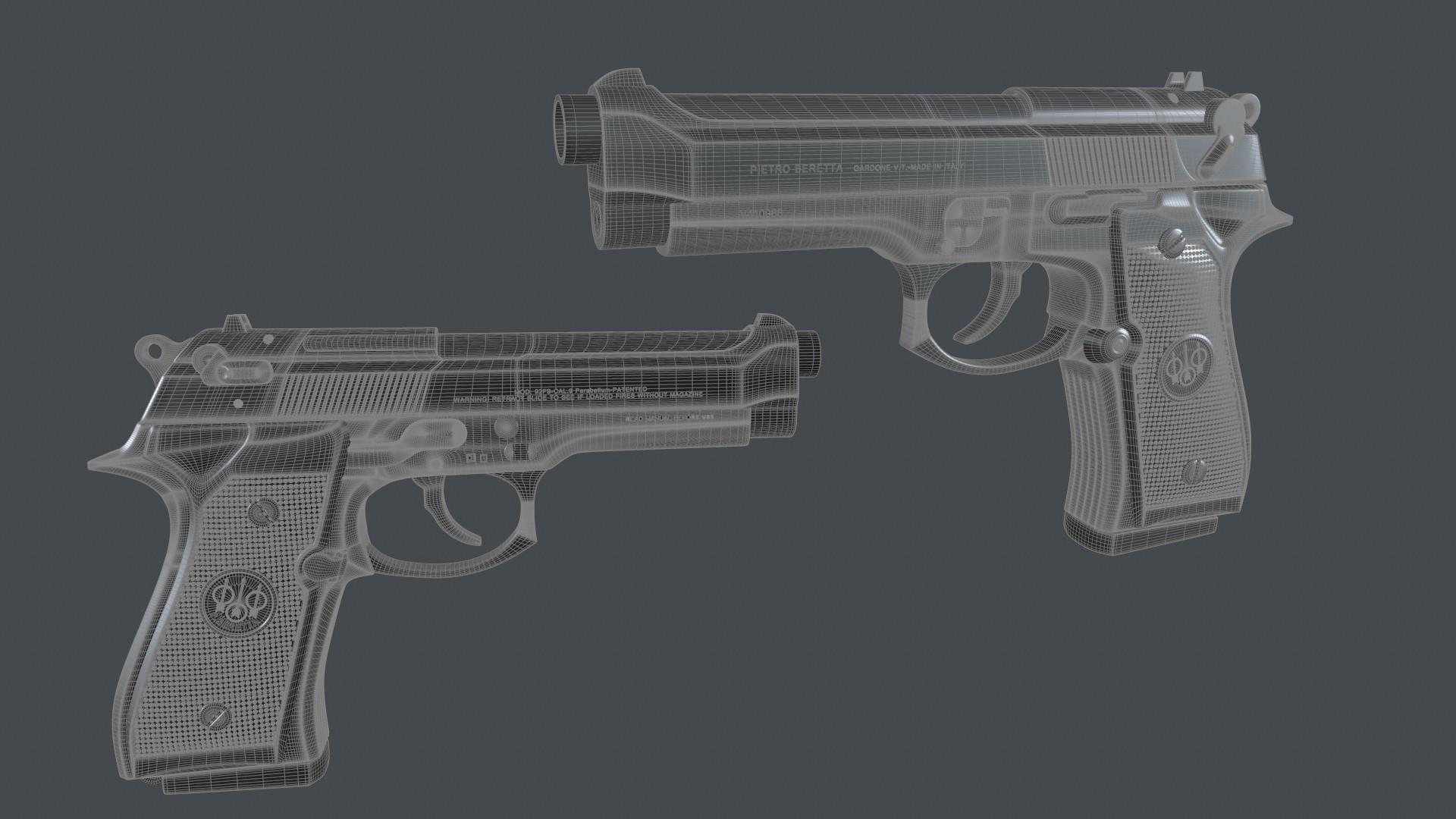 Beretta - Wireframe