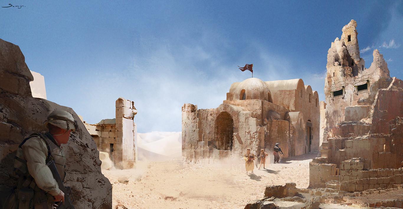 Sarayu ruangvesh desert ruins