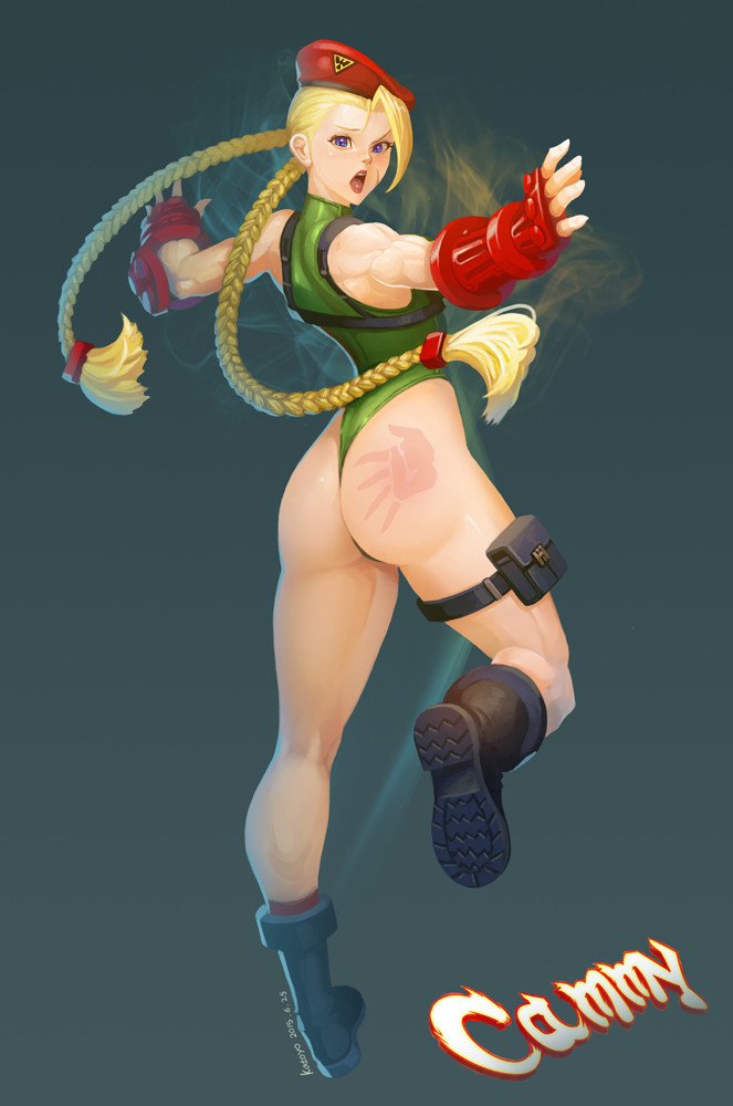 Sang hyun yu street fighter v cammy