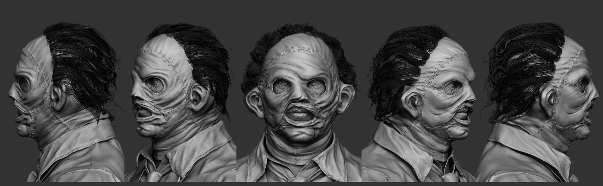Solomon gaitan leatherface moviemask