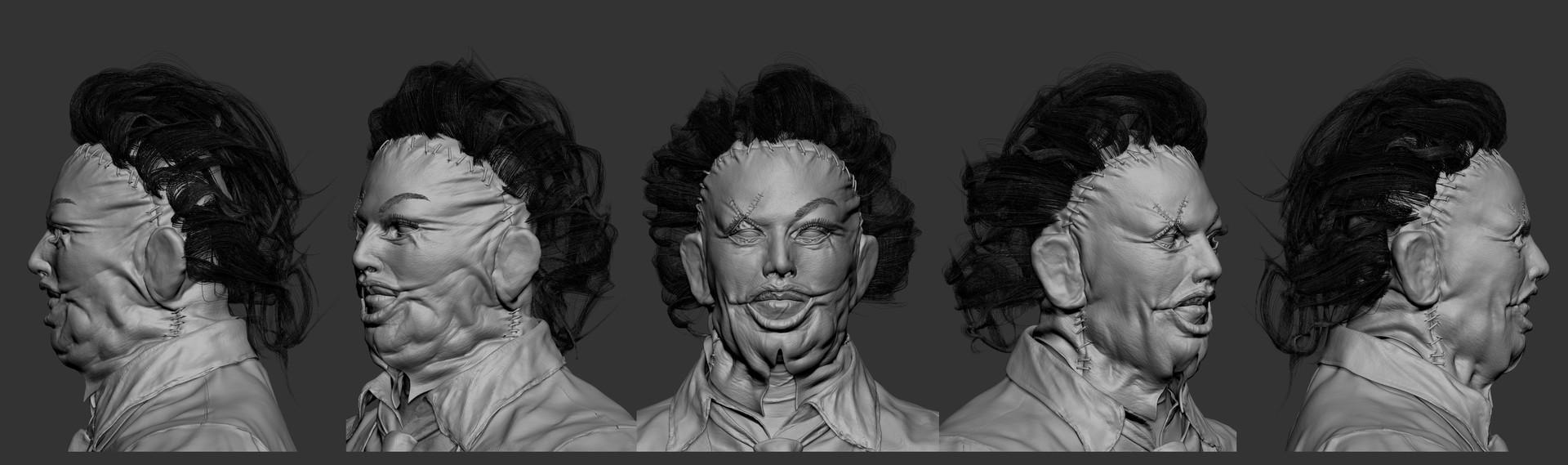 Solomon gaitan leatherface prettyladymask