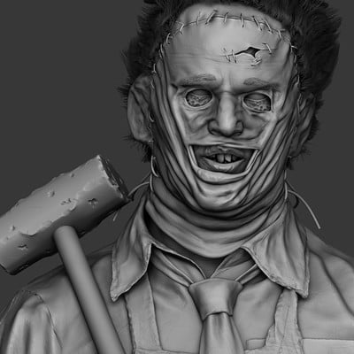 Solomon gaitan leatherfaceposed
