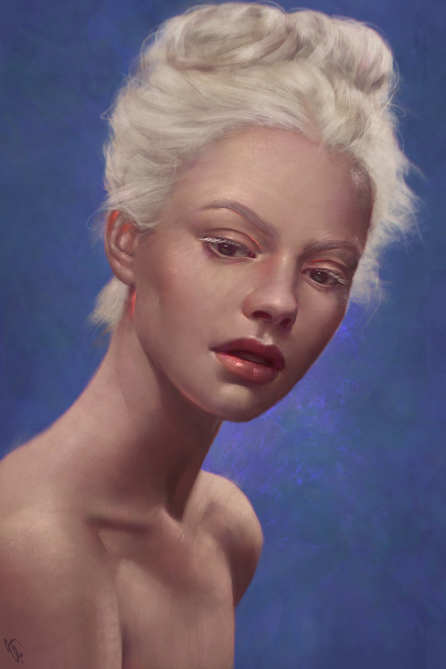 Angel ganev angelganev albino