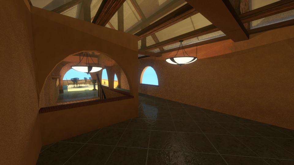View on second level  Vista en el segundo nivel