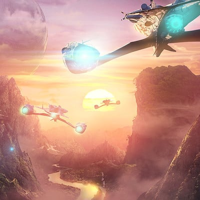 Mateusz szulik planet 10 sunset flight