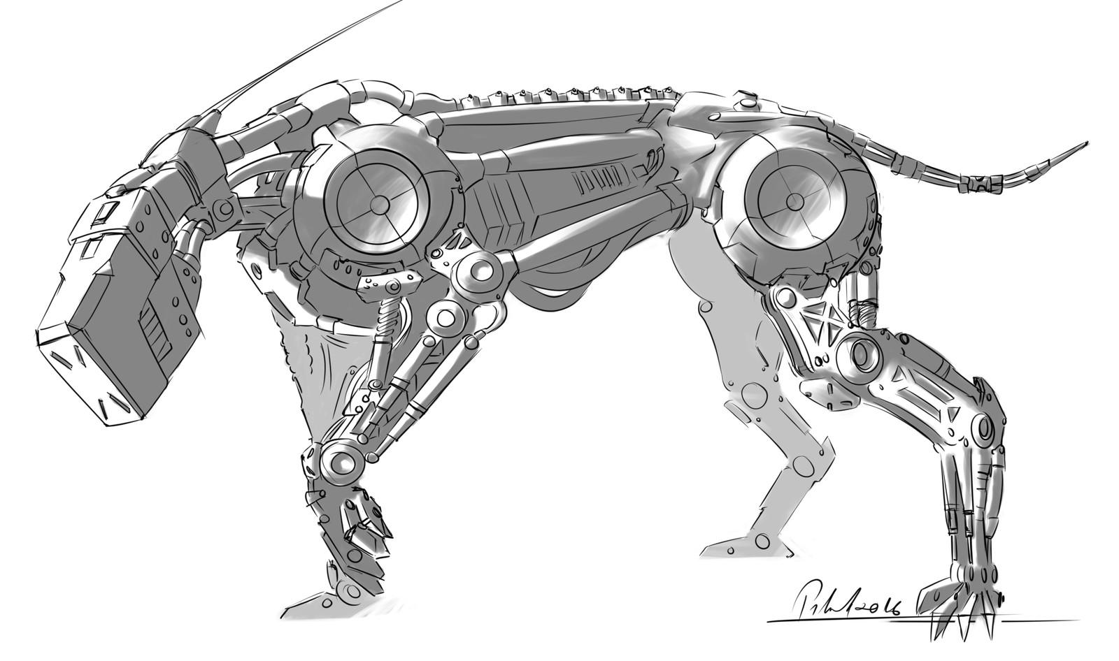 Dog-mech