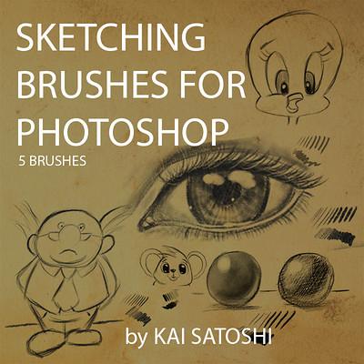 Kai satoshi sketch brushes by kai satoshi