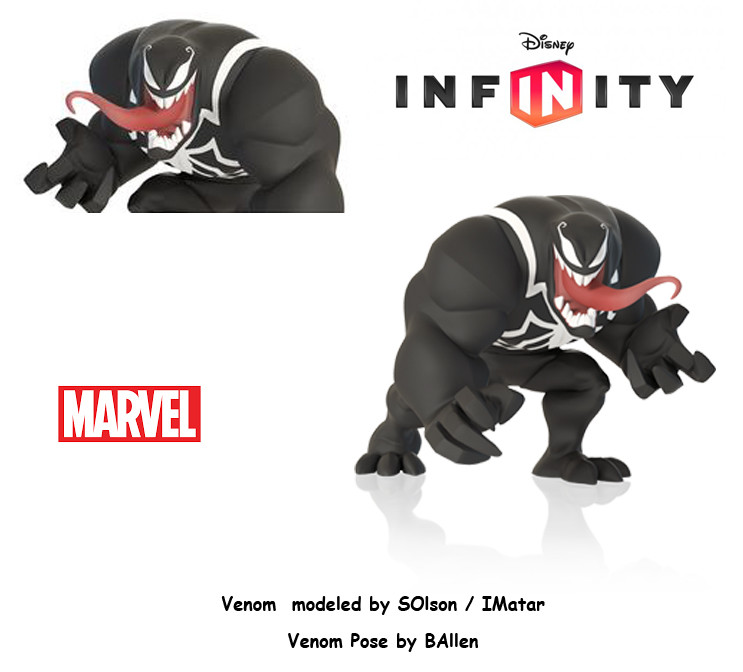 B allen venom infinity by solson imatar posed by ballen