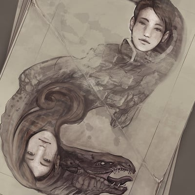 Angelica zurawski twins by endzi z