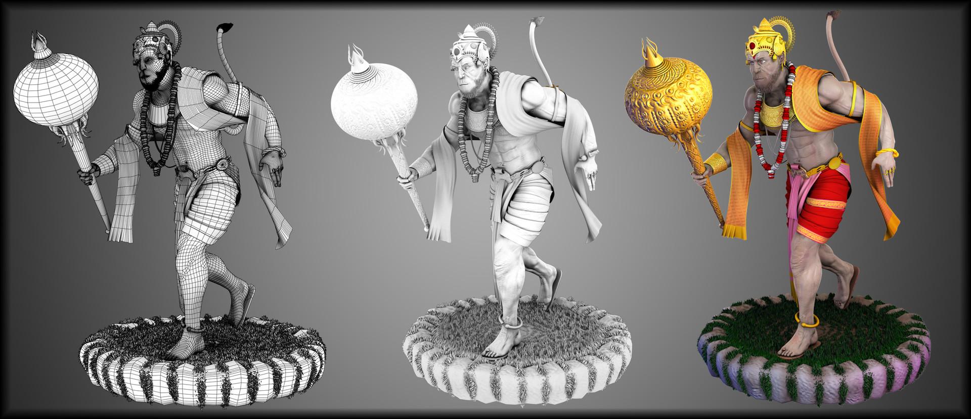 Devesh arvind nigam lord hanuman 1