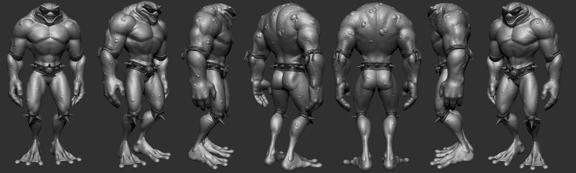 Sam chester battletoad highpoly revised