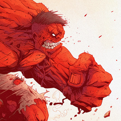 Tonton revolver red hulk and wolverine