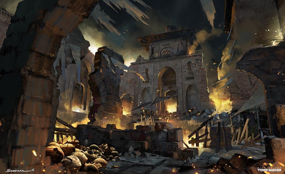 Yohann schepacz oxan studio byzantine ruinstothetower01