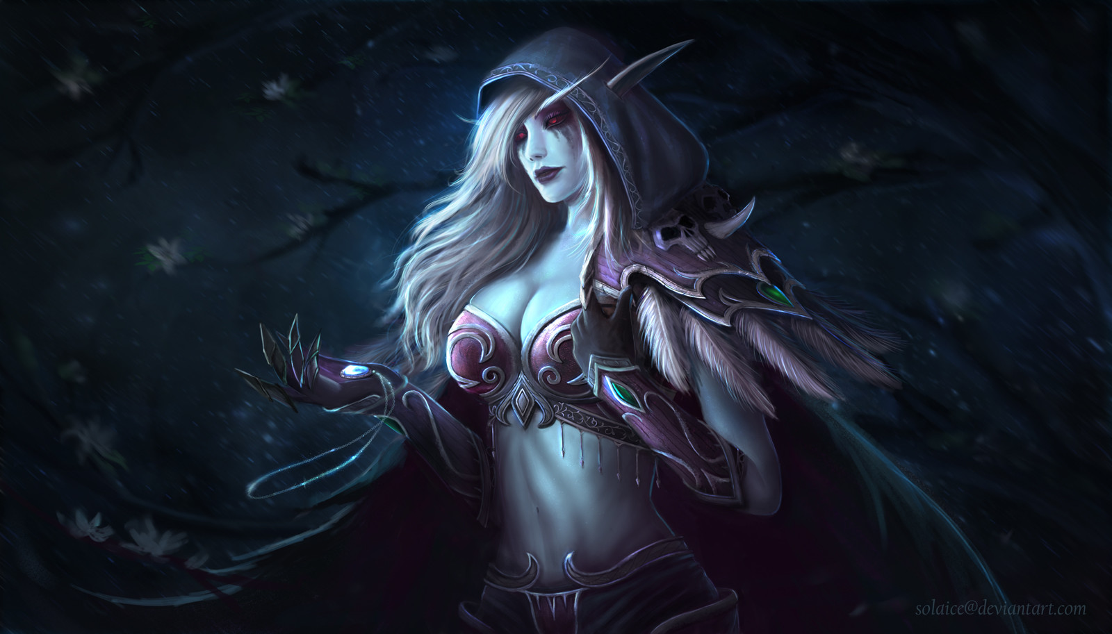 Download sleeping Lady Sylvanas and Jaina Proudmoore  sexy movie