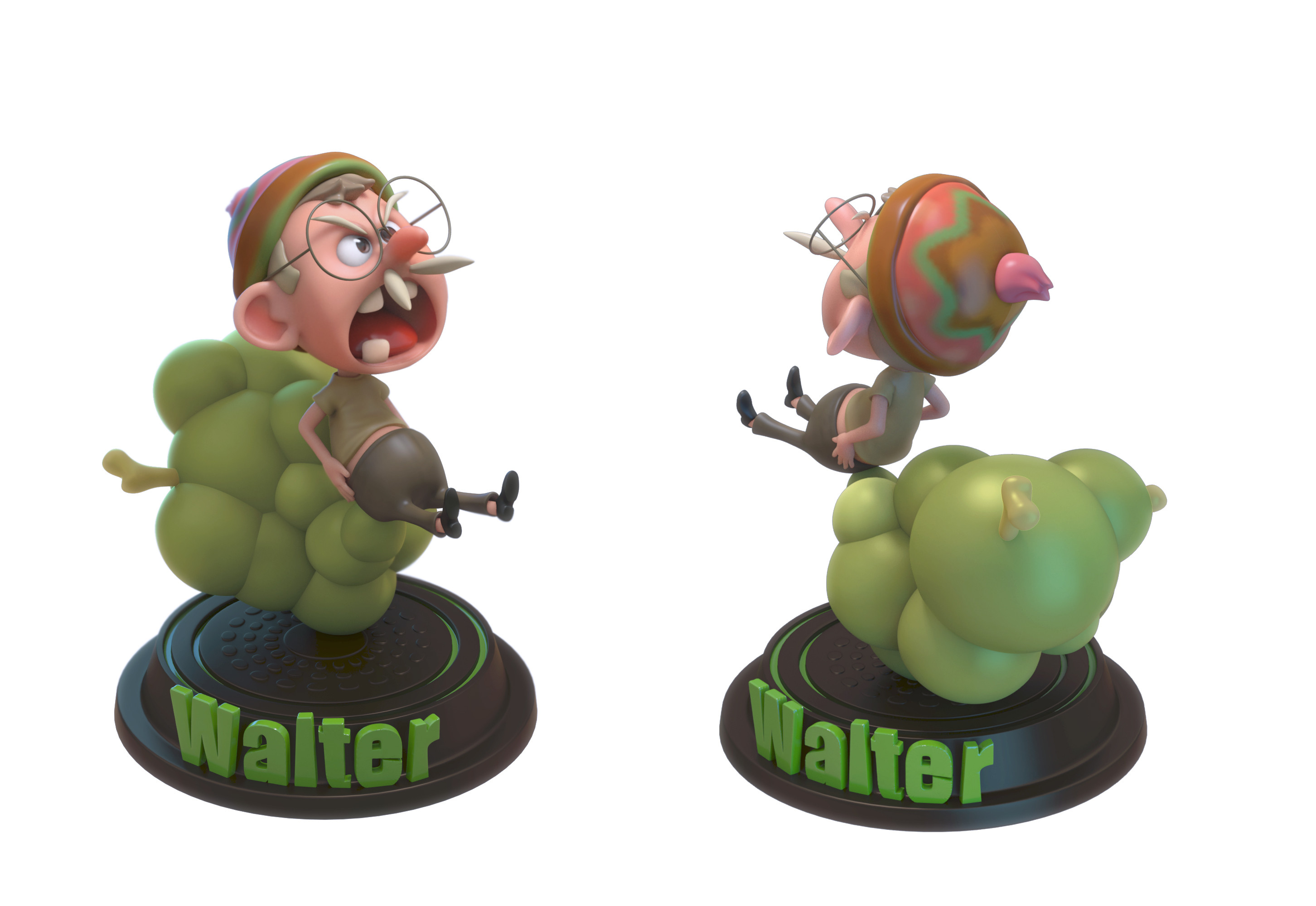Walter Toy sculpt