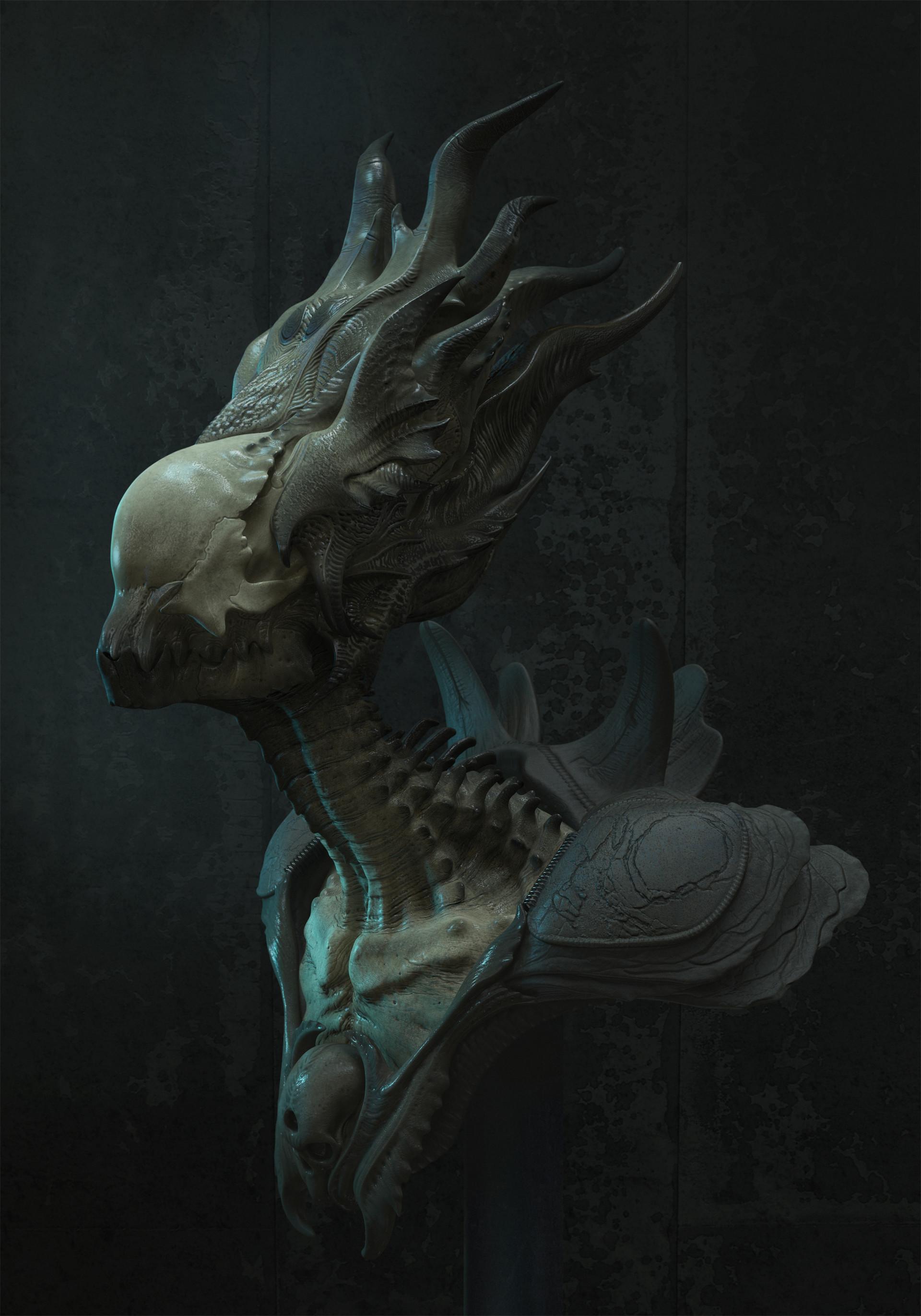 Alien City Concept Art Design