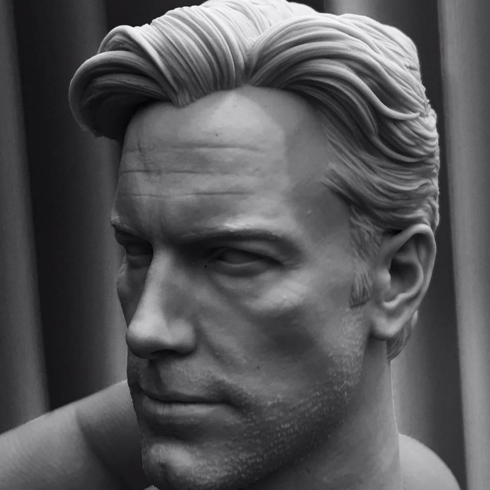 Ben Affleck 3D Printed