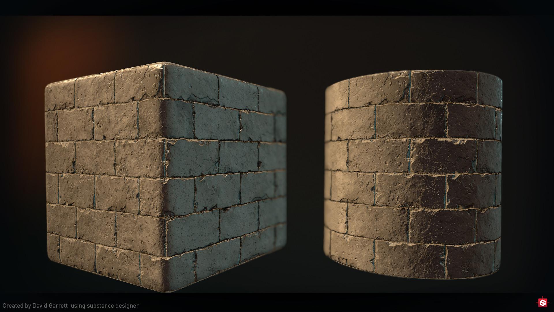 David garrett n3094311 asset shot material brick damaged