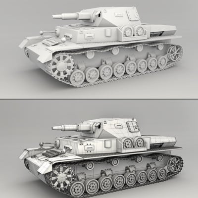 Johnson martin panzer iv mesh render by regusmartin d9darsj